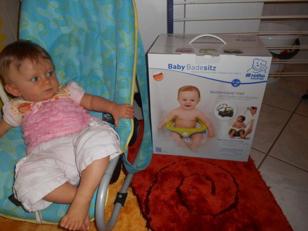 der mibaby produkttest rotho babydesign badesitz f r mehr sicherheit und spa beim baden. Black Bedroom Furniture Sets. Home Design Ideas