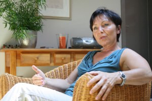 Gerlinde Kettenring bei Buch Interview 1
