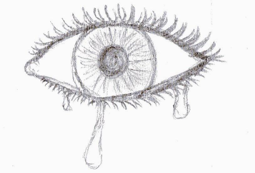 Allein Auge