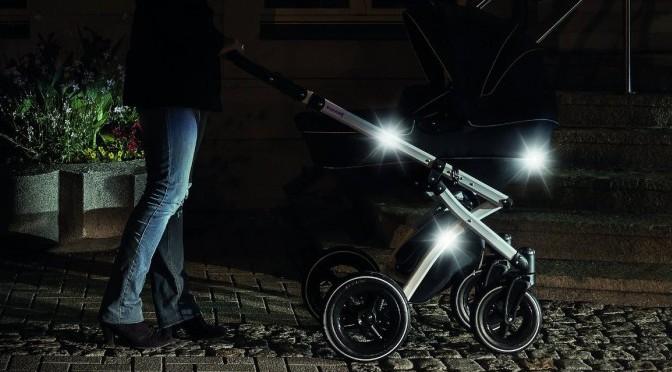gut sichtbar dank kinderwagen beleuchtung mibaby magazin ratgeber testberichte f r eltern. Black Bedroom Furniture Sets. Home Design Ideas