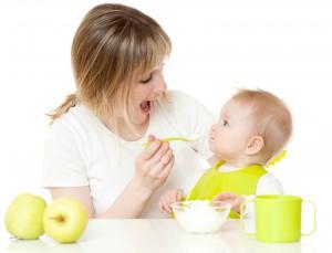 Feeding of  child