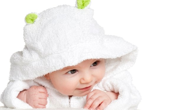 NochKleiner_Baby in Bademantel mit Öhrchen_XXL