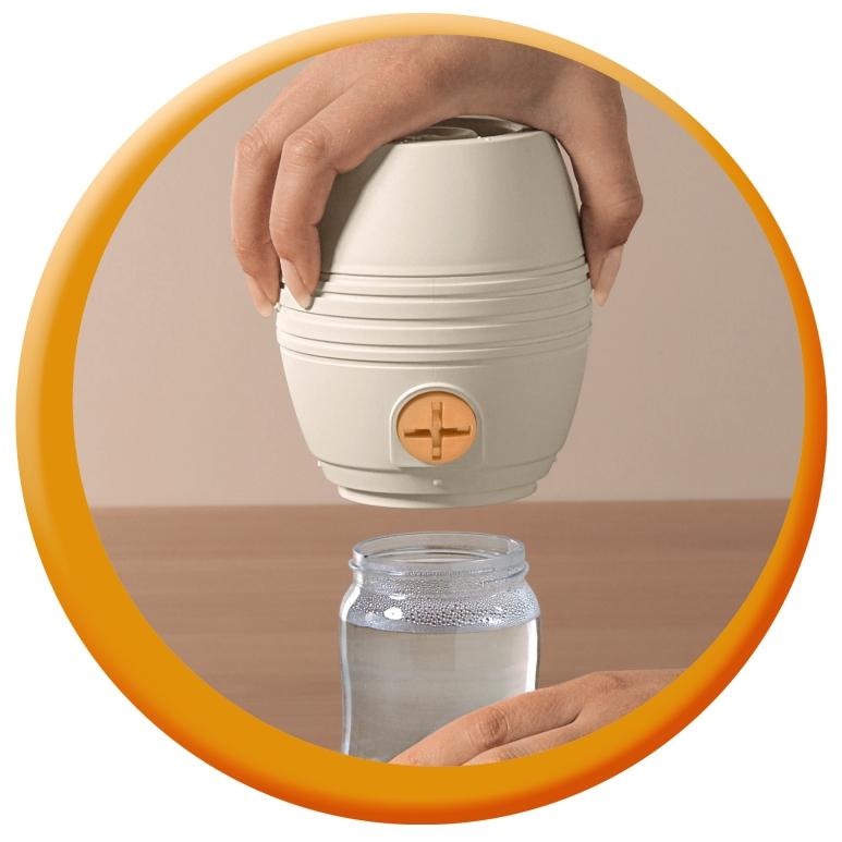 Gerade Nip Cool Twister Fläschenwasser-abkühler Top Originalverpackung Mit Anleitung Ernährung