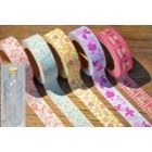 Washi Masking Tape QUEENIE Klebeband 5er Set L 10m