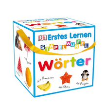 Dorling Kindersley | Erstes Lernen: Wörter Stapelwürfel
