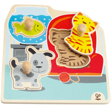 HAPE | Knopfpuzzle Meine Haustiere