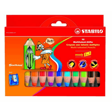 Stabilo | Aquarellisierbarer Buntstift 3 in 1