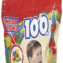 Mega Bloks | Riesen-Bausteinbeutel (100 Teile)