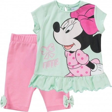 "T-Shirt + Leggings ""Minnie Mouse"""