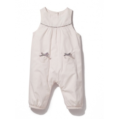 Wattierter Baby-Overall in Liberty®