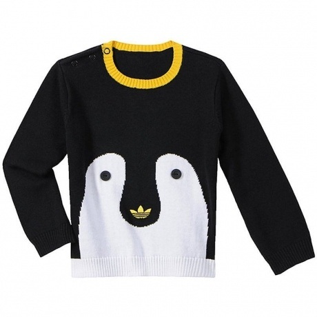 "Sweatshirt ""Knit Penguin"""