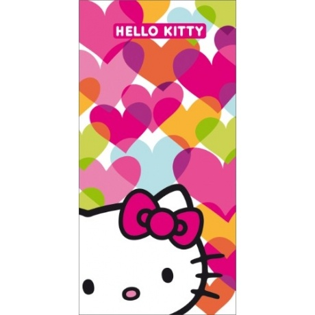 "Badetuch ""Hello Kitty Mimi Love"""