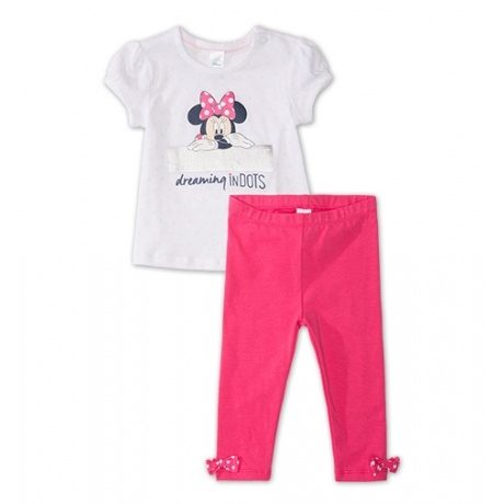 Baby-Outfit Minnie Mouse