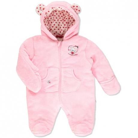 Girls Baby Fleece Overall