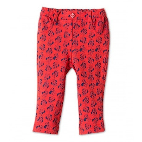 Baby Jeggings in rot