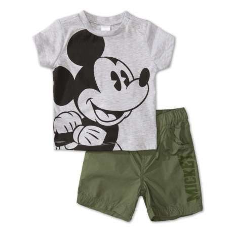 2-teiliges Mickey Mouse Baby-Outfit
