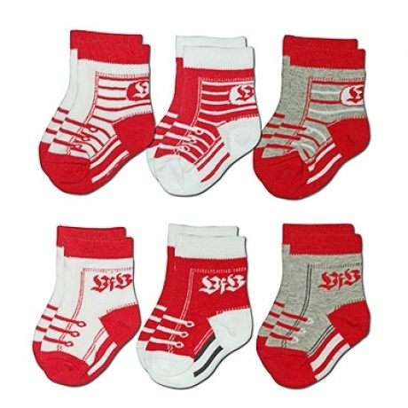 Babysocken 6er Pack
