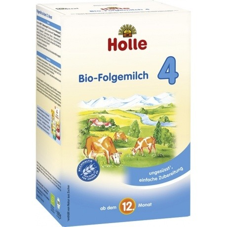 Holle Bio Kindermilch 4, 4er Pack (4 x 600g)