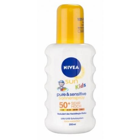 "Sonnenspray ""Sun Kids Pure & Sensitive"", LSF 50+"