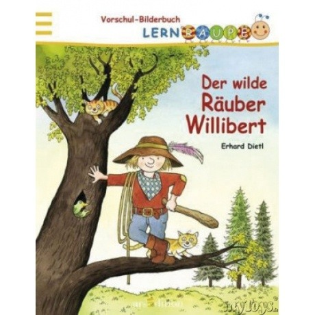 Ars Edition Lernraupe: Der wilde Räuber Willibert