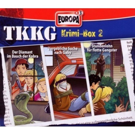 TKKG Krimi-Box 2 (CD)