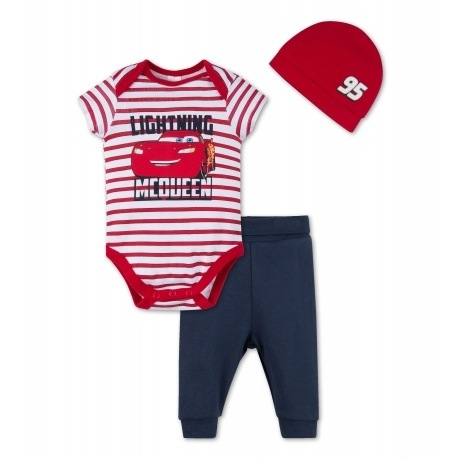 Cars Baby-Outfit aus Bio-Baumwolle