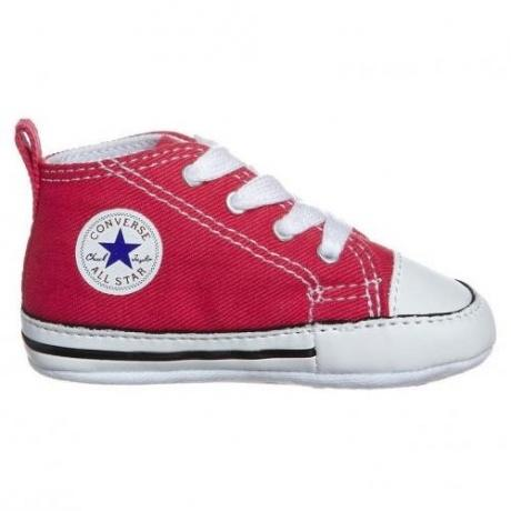 FIRST STAR Krabbelschuh red