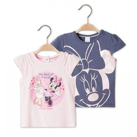 2er Pack Baby-T-Shirts Minnie Mouse