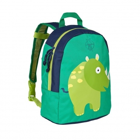 "Kindergarten Rucksack Mini Backpack ""Wildlife Rhino"""