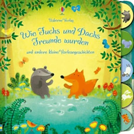 USBORNE VERLAG | Wie Fuchs und Dachs Freunde wurden