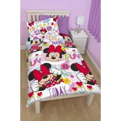 Kinder-Bettwäsche Minnie Mouse