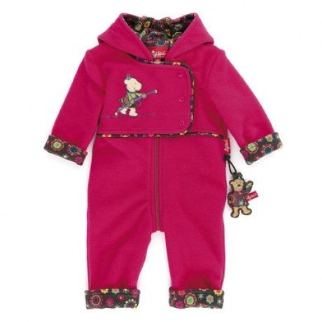 Girls Baby Fleeceoverall