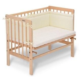 Baby Beistellbett weiß verschiedene Modelle mit Matratze Classic oder Comfort