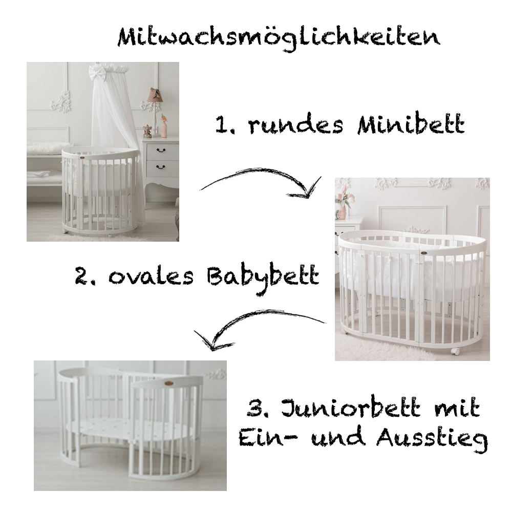 babybetten die top 6 empfehlungen. Black Bedroom Furniture Sets. Home Design Ideas